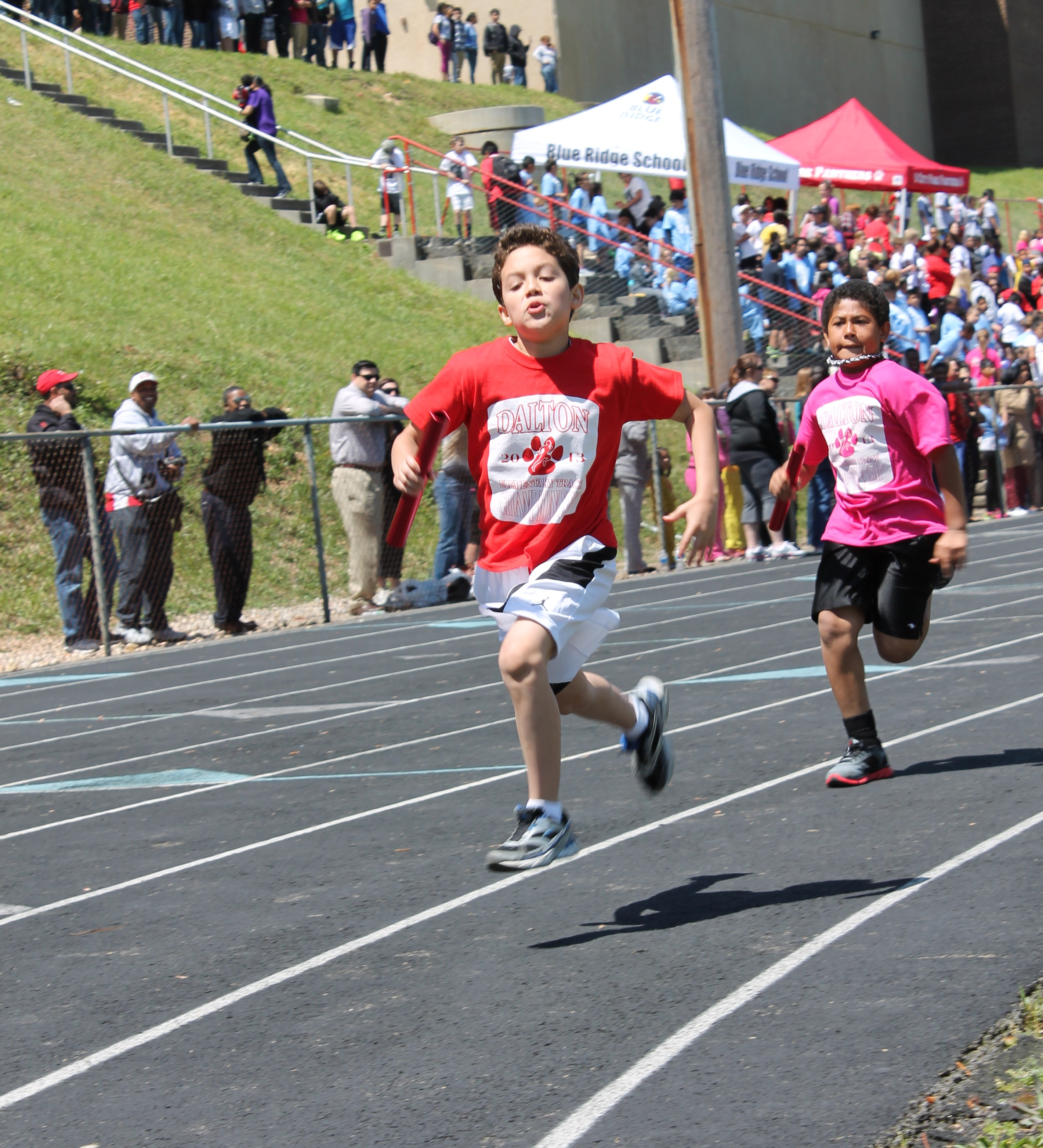 Elementary Schools Go Head To Head In District Track Meet