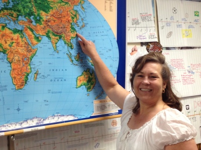 Dalton High teacher Barbara Brayford will travel to China for five weeks this summer to develop new learning experiences for students across the district.