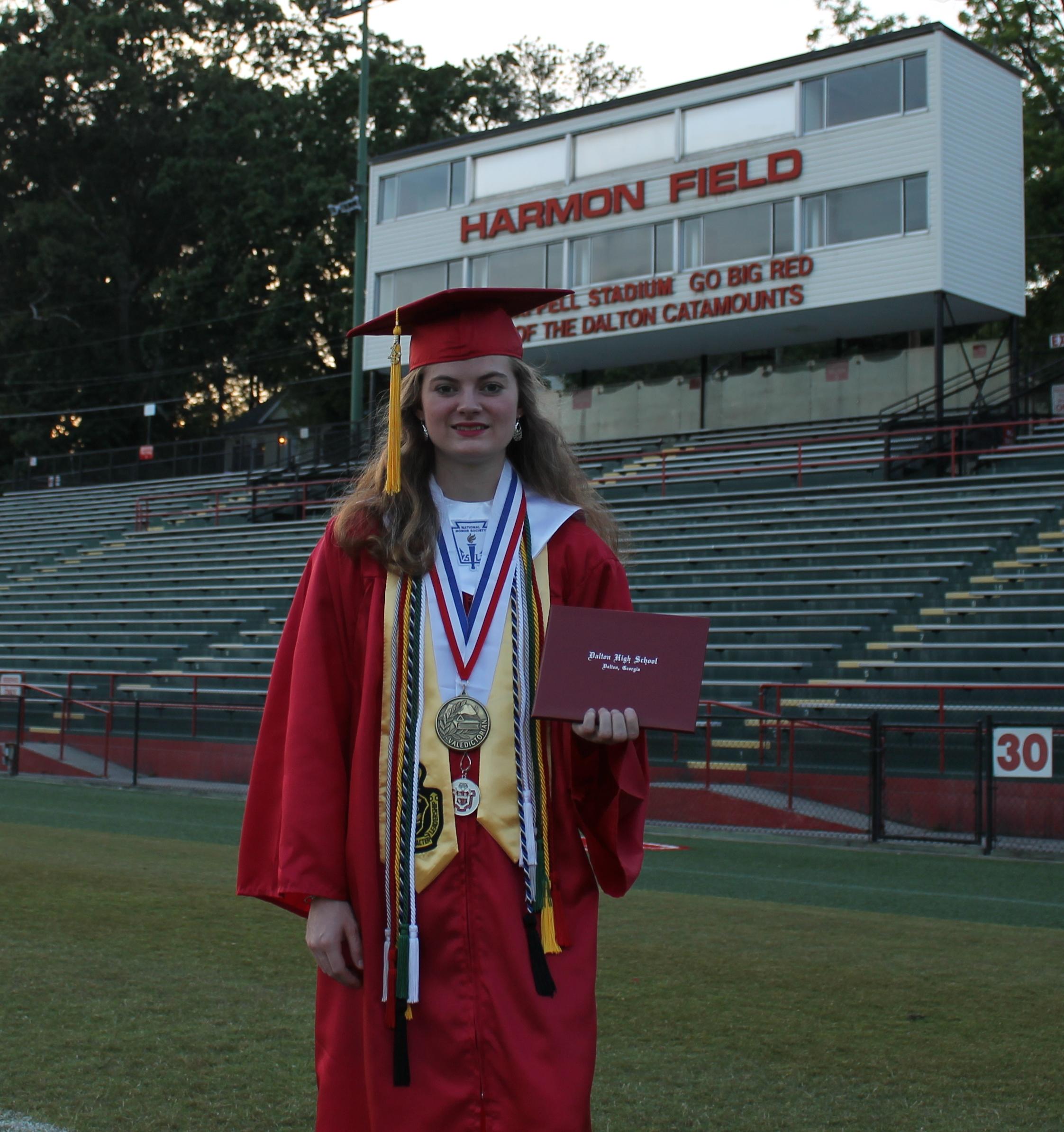 Dhs Honors Graduating Valedictorian And Salutatorian