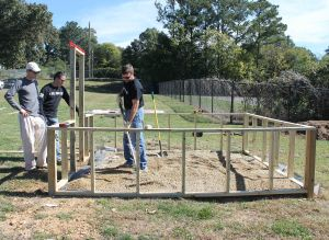 build the greenhouse at Blue Ridge.