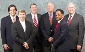 The Dalton Board of Education members, from left to right, are Chairman Danny Crutchfield, Vice Chairman Rick Fromm, Sherwood Jones, III, Steve Laird, Treasurer Tulley Johnson, and Superintendent Jim Hawkins.